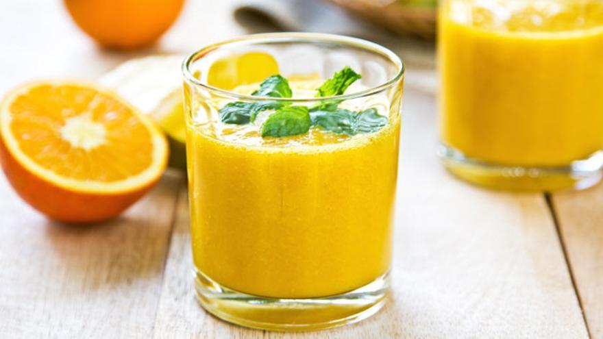 Los batidos elaborados con alimentos que contienen vitamina C repercuten muy positivamente en tu piel.