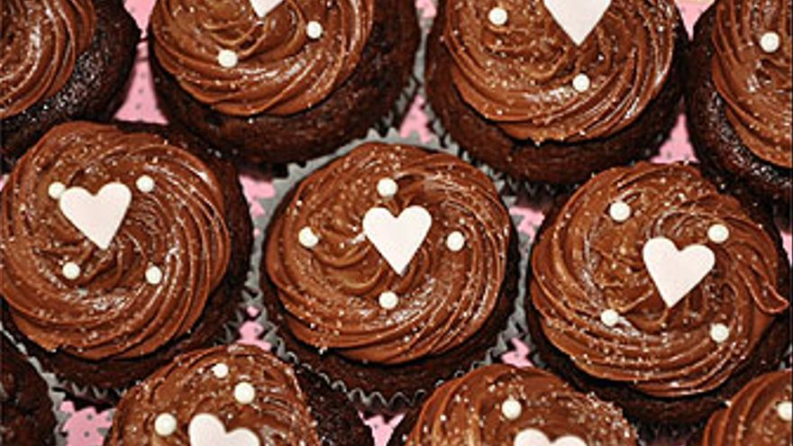 Cupcakes de chocolate. (HEAVENLY CUPCAKES)