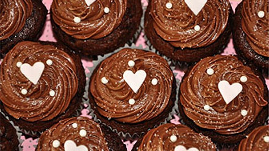 Cupcakes de chocolate. (HEAVENLY CUPCAKES)
