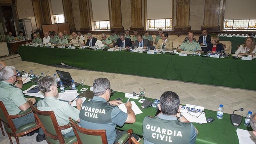 Jefe de la UCO agradece que se pidiera apoyo para esta unidad a la cúpula de Interior en una reunión de Guardia Civil