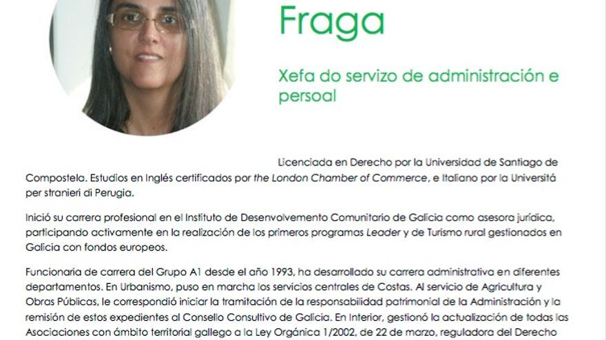 Curriculum de María Puy Fraga en la web del Valedor do Pobo
