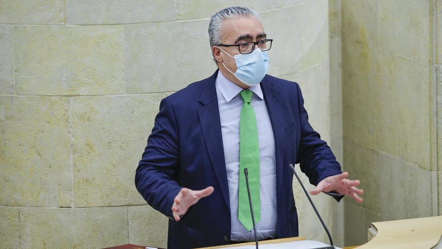 El portavoz parlamentario del PRC, Pedro Hernando.