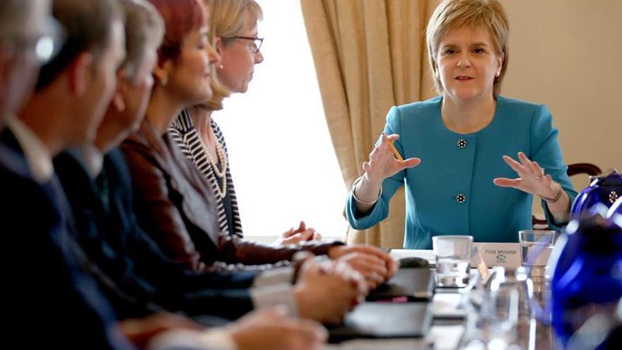 """Sturgeon dice que la reunión con Schulz ha servido para """"fijar la posición de Escocia"""""""