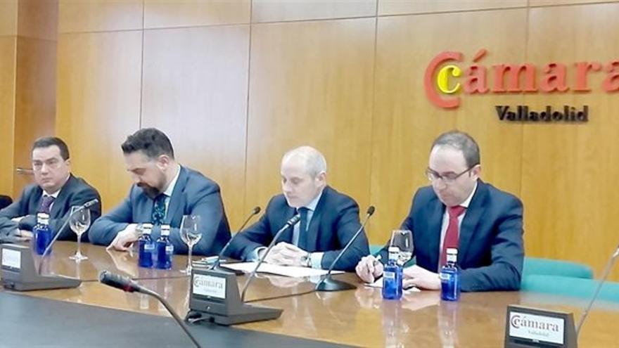Equipo directivo de la Cámara de Comercio de Valladolid.