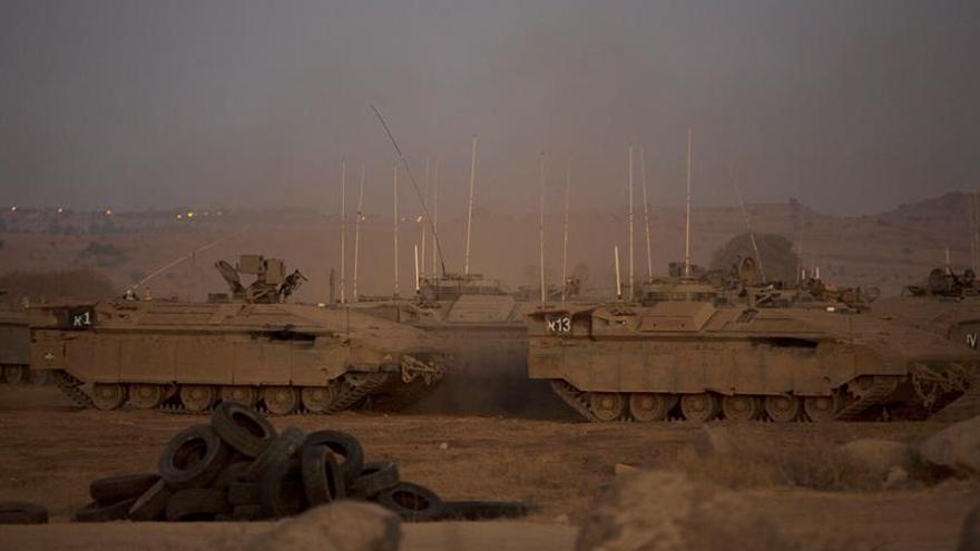 """El Ejército israelí """"declina comentar"""" el bombardeo en territorio sirio"""