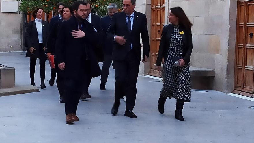 """Torra despeja su agenda para reunirse con Sánchez y niega """"taxativamente"""" un avance electoral"""