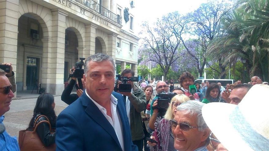 Pérez, el pasado junio, a su salida de los juzgados de Sevilla