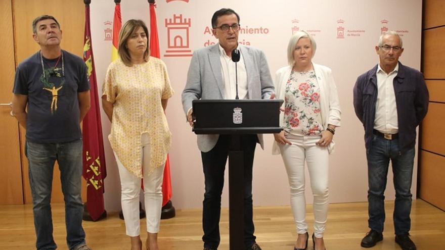 """José Antonio Serrano: """"El PP no constituye las juntas municipales porque no quiere hacerse la foto con la ultraderecha"""""""