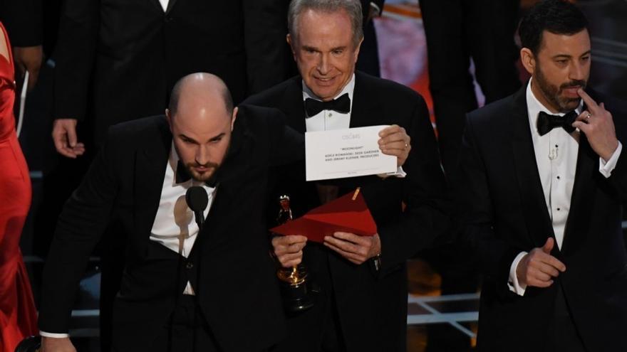 El productor de 'La La Land', Jordan Horowitz, aclara que 'Moonlight' ha ganado en los Oscar 2017