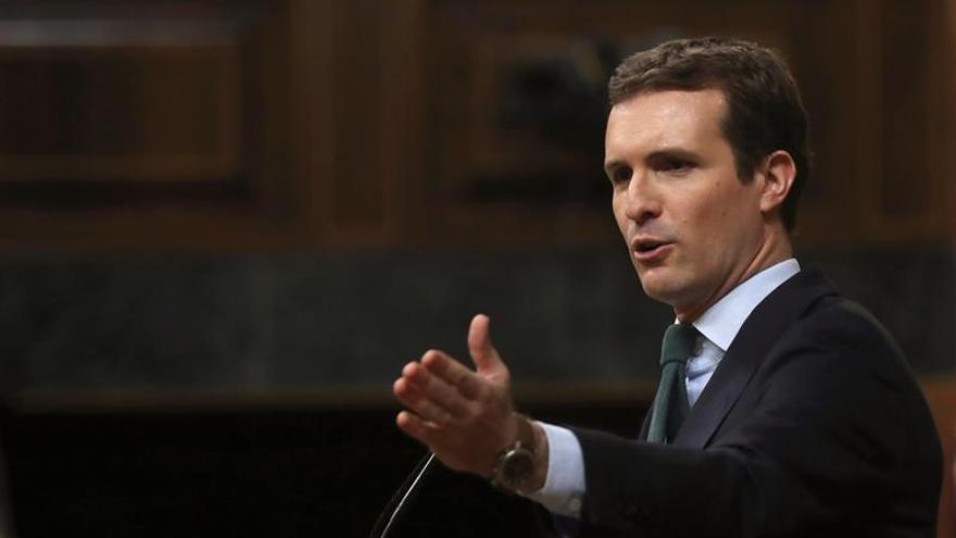 PP y PSOE evitan la comparecencia de Pablo Casado en la Asamblea de Madrid