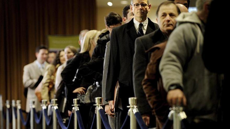 Las solicitudes de desempleo en EE.UU. caen a su menor nivel en cinco años