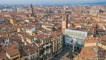 Las espectaculares vistas de Verona desde la Torre dei Lamberti.