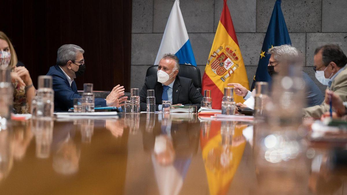Reunión del Consejo de Gobierno de Canarias del pasado jueves