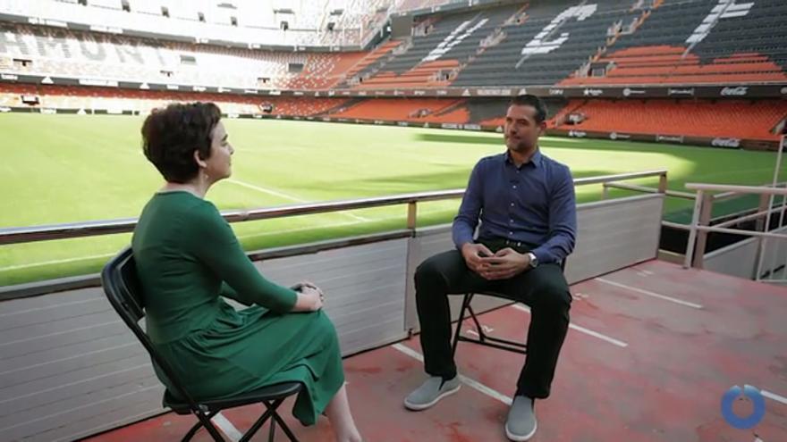 Salut Alcover entrevista Andrés Palop a Mestalla