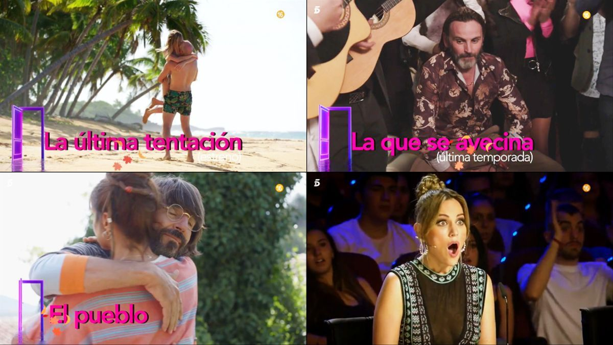Nueva temporada de Telecinco