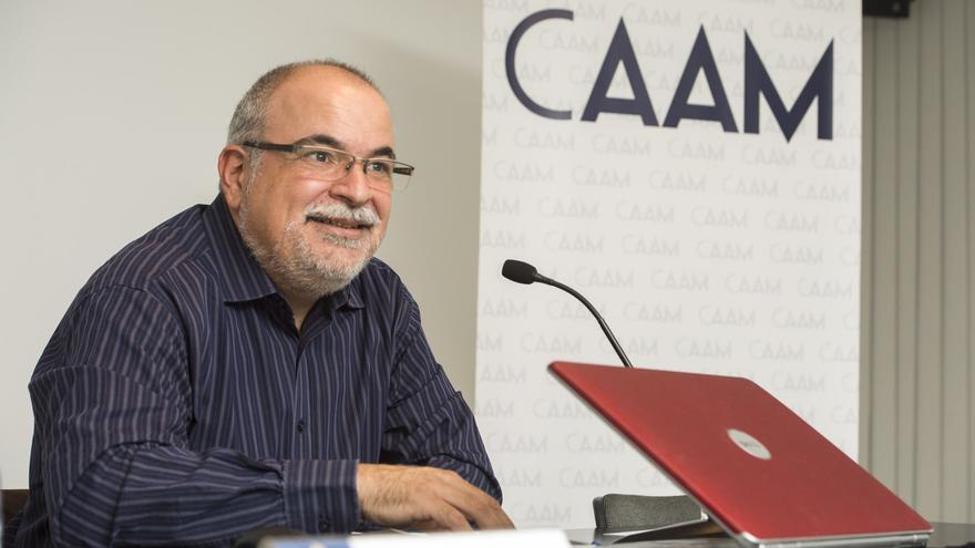 Orlando Britto, director artístico del CAAM.