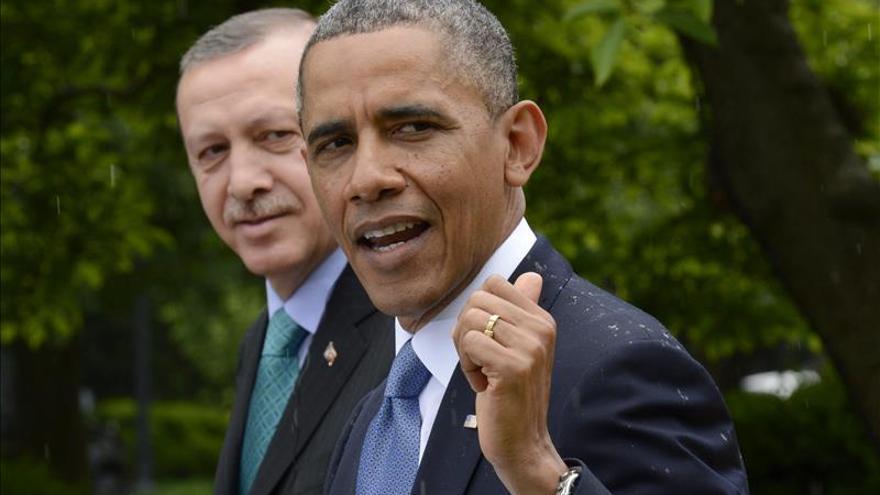 Obama y Erdogan abordaron la campaña contra el EI y el conflicto en Yemen