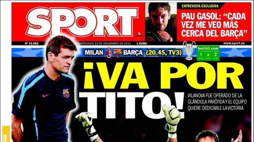 De las portadas del día (23/11/2011) #15