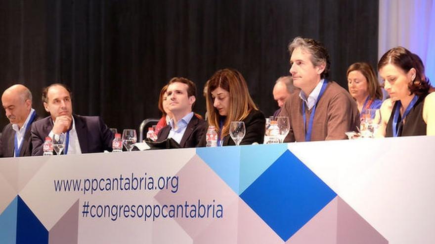 La Justicia avala la legalidad del Congreso del PP de Cantabria en el que Buruaga fue elegida presidenta