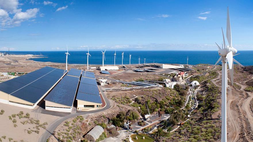 Imagen de archivo de las instalaciones del ITER en Granadilla, su sede principal