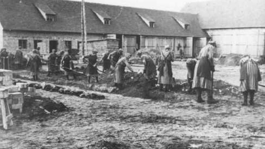 Imagen del campo de Ravensbruck tomada entre 1940 y 1942 Fuente US Holocaust Memorial Museum.