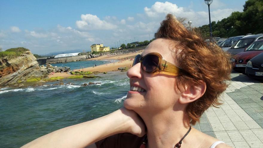 Pilar García, en Santander el pasado mes de junio.