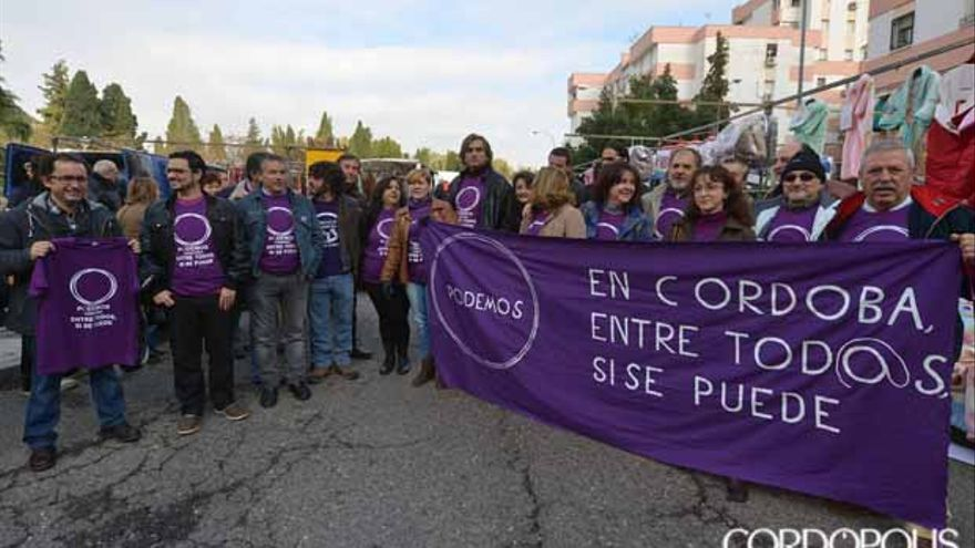 Presentación de la candidatura de Manuel Ortega a dirigir Podemos | TONI BLANCO