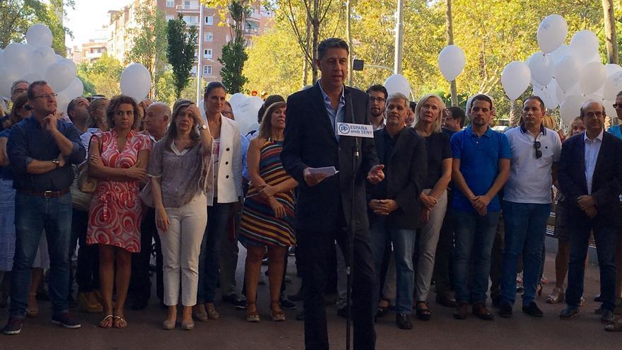 """Albiol (PP) llama a los partidos no independentistas a """"defender la democracia"""""""