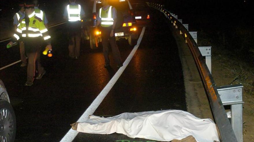 Un total de 1,25 millones de personas muere al año en accidentes de tráfico