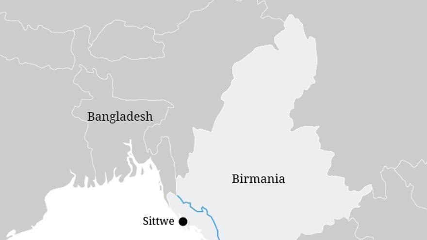 Más de 100.000 rohingya que han vivido en campos para desplazados en Rakhine desde 2012