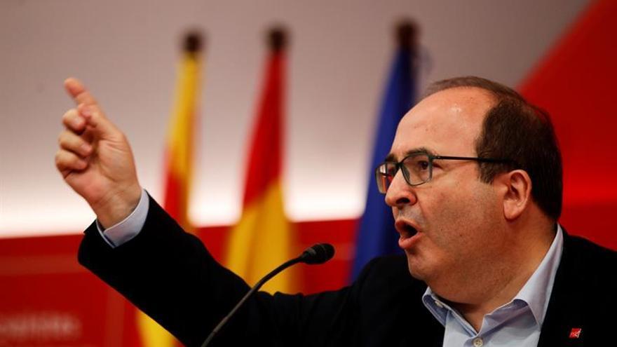 Iceta: si hubiera un 65% de independentistas habría que buscar una solución