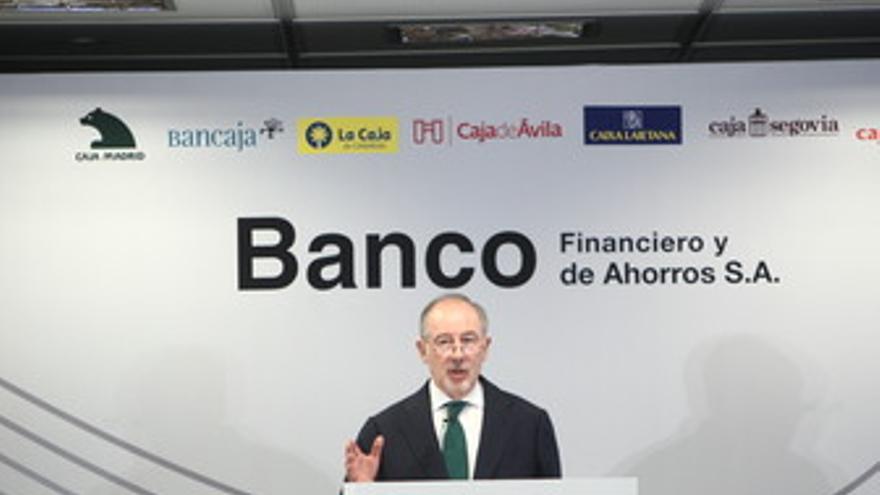 Presidente de Banco Financiero y de Ahorros y de Caja Madrid, Rodrigo Rato