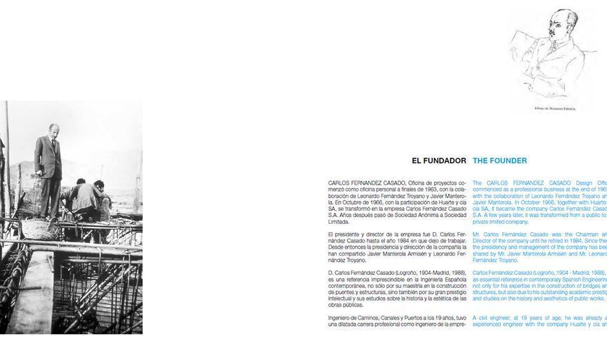 'El fundador', Carlos Fernández Casado. | CFCSL