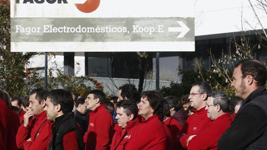 """Trabajadores de Fagor CNA reclaman """"medidas alternativas"""" a los 40 despidos"""
