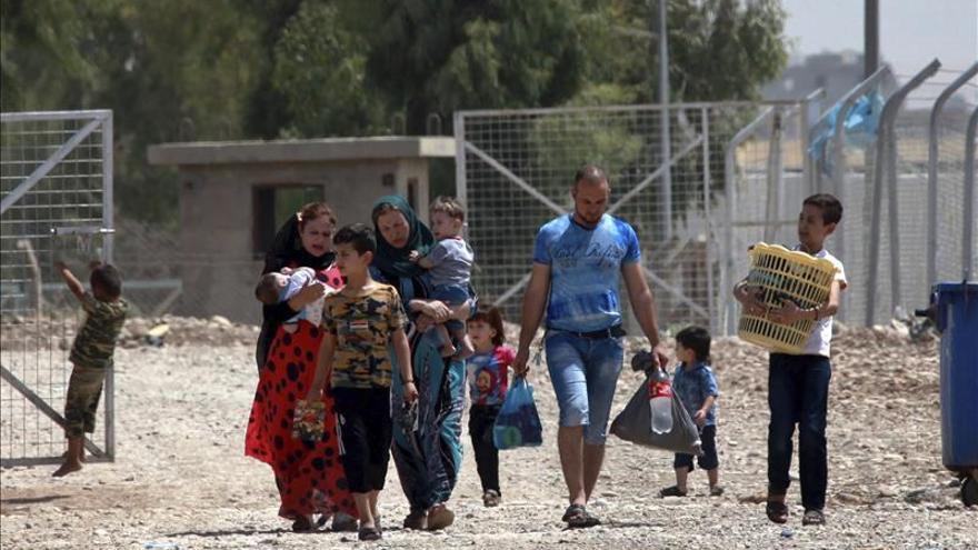 EI impide a cientos de familias desplazadas refugiarse en su bastión iraquí