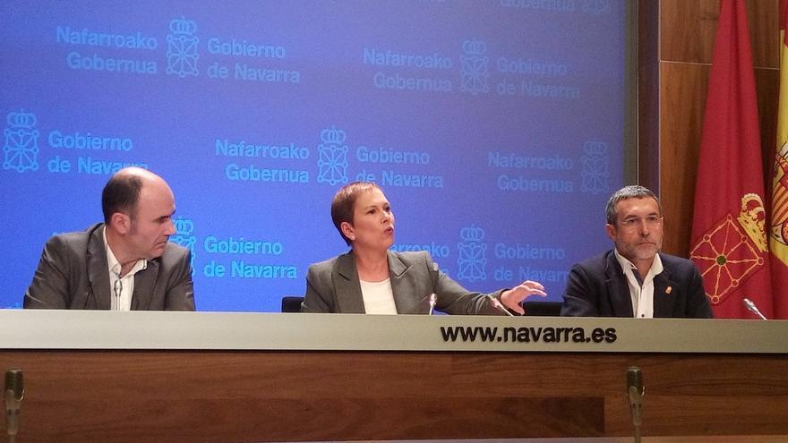 """Uxue Barkos afirma que los 100 días de su Gobierno """"pone fin al apagón ejecutivo de la legislatura anterior"""""""