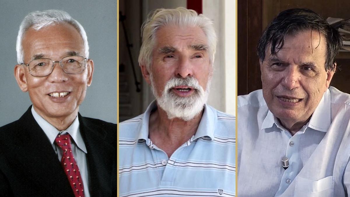Los meteorólogos japonés Syukuro Manabe y alemán Klaus Hasselmann, y el físico italiano Giorgio Parisi