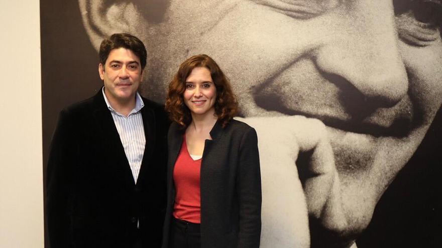 Isabel Díaz Ayuso y David Pérez. / PP de Madrid