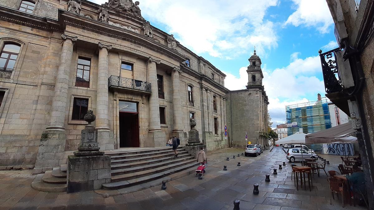 La Facultade de Xeografía e Historia de la Universidade de Santiago de Compostela