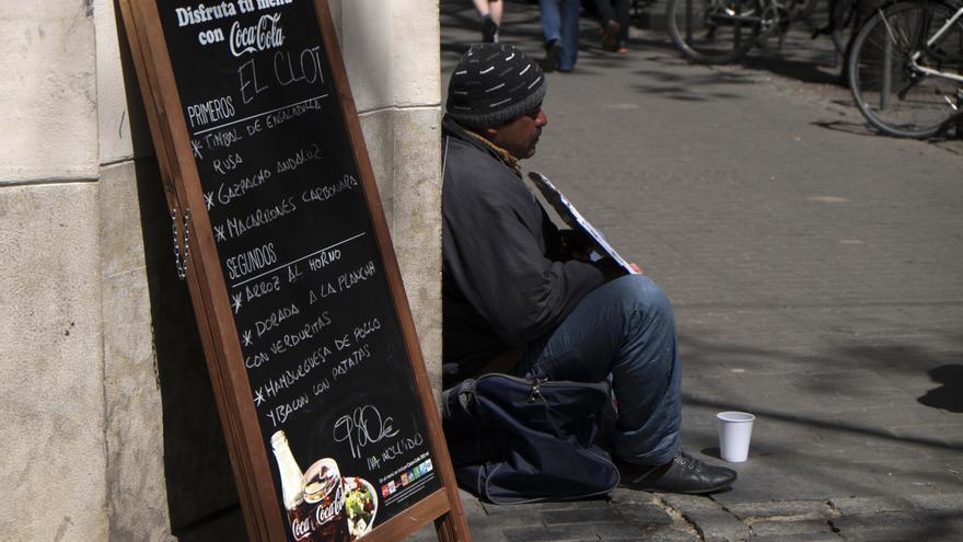 Los pobres son cada vez más pobres en Euskadi. Foto: Santos Cirilo