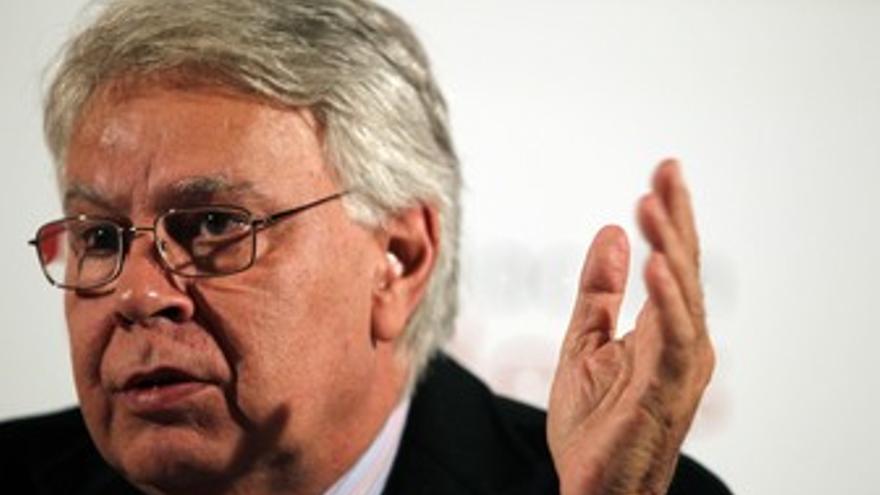 Ex presidente del Gobierno Felipe González