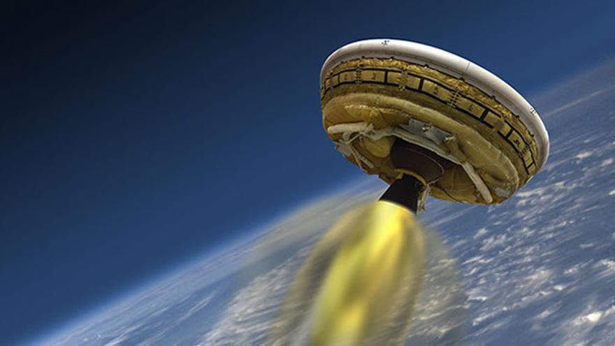 Las nuevas tecnologías para el aterrizaje en Marte están pensadas para soportar mayor carga que la del vehículo explorador Curiosity