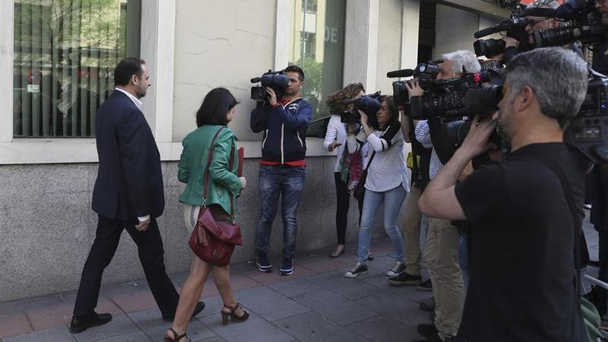 La candidatura de Pedro Sánchez acusa a Patxi López de no tener proyecto