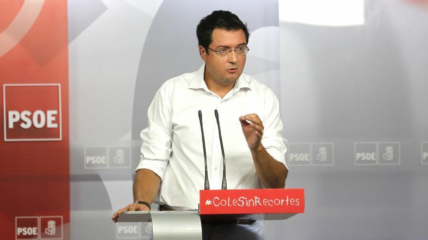 """Óscar López: """"El PSOE no está de acuerdo con el derecho a decidir"""""""