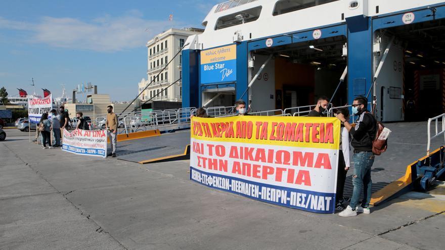 Grecia se alza contra la nueva ley laboral que flexibiliza los horarios