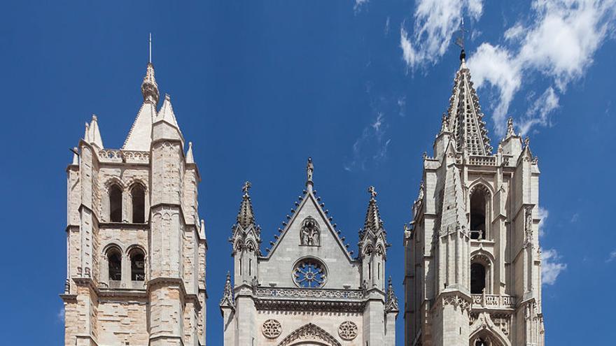 La Catedral de León, en una imagen de archivo.