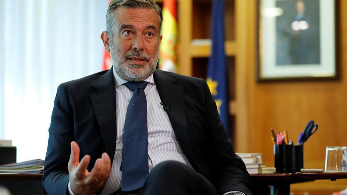 El consejero de Justicia de la Comunidad de Madrid, Enrique López.