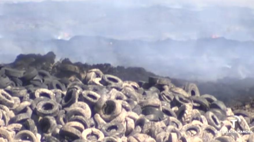Incendio de Seseña en Castilla-La Mancha Televisión