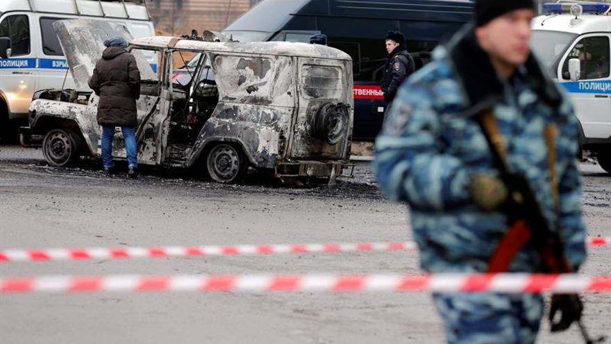 Las fuerzas de seguridad rusas matan a dos sospechosos de preparar atentados