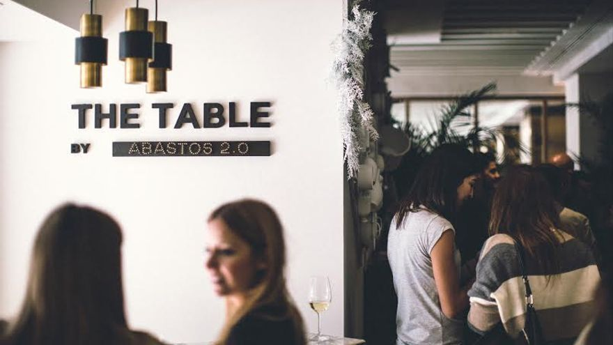 "Portada restaurante ""The table"", con Abastos 2.0"